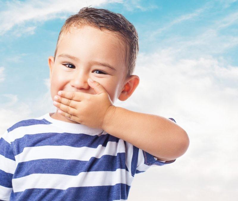 Детская синька от стоматита