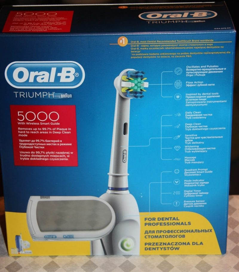 Make oral b triumph toothbrush review viking