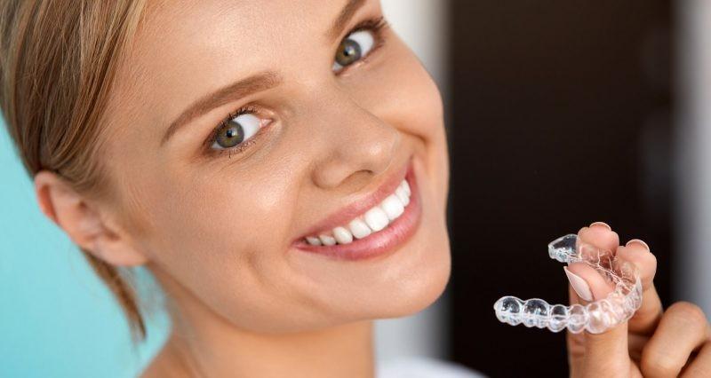 Съемные капы для выравнивания и исправления зубов